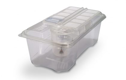 Cage for shipping germ free or gnotobiotic animals